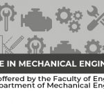 Bachelor of Science in Mechanical Engineering -