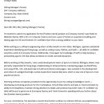 Computer Science Cover Letter   Free Downloadable Sample   RG