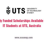 Fully Funded Scholarships Available for IT Students at UTS, Australia -  ASEAN Scholarships