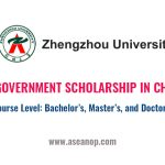 Henan Provincial Government Scholarship in China 2021 - ASEAN Scholarships