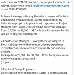 Electrical Design Engineer, Construction Manager and Project Manager Job -  Oil Gas King