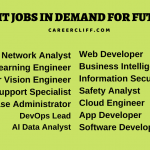 13 Top IT Jobs in Demand for Future 2022 and Beyond - Career Cliff