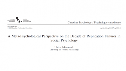 A Meta-Psychological Perspective on the Decade of Replication Failures in  Social Psychology | Replicability-Index