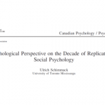 A Meta-Psychological Perspective on the Decade of Replication Failures in  Social Psychology   Replicability-Index