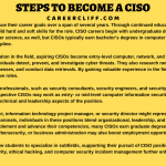 Chief Information Security Officer - Scope   Skills   Duties - Career Cliff
