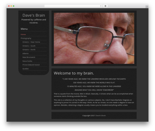 DarkElements free WP theme by Guido - page 6