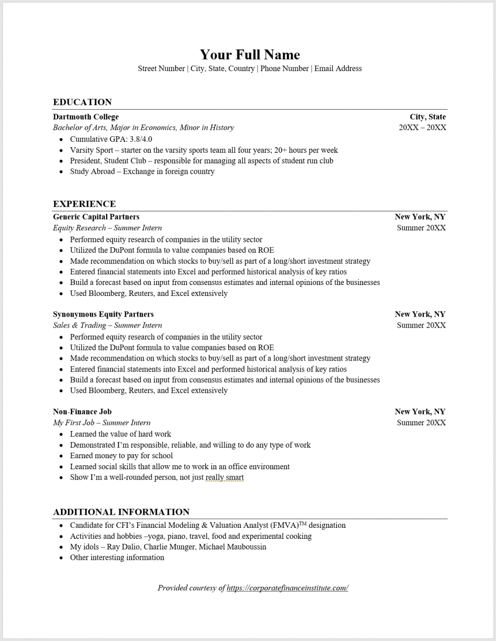 How to List Minor on Resume - Overview, Guide, Examples