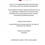 PDF) Graduation Project Bachelor of Science Thesis