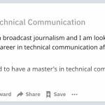 Should you get a degree in a tech comm program? Two considerations to keep  in mind | I'd Rather Be Writing Blog