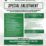 Philippine Army Hiring for Special Enlistment | Philippine Go