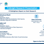 Fulbright Research Presentation on Sociology, Political Science, and Public  Policy