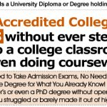 Life Experience Degrees: How to Get a College Degree in 5 Days