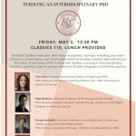 Pursuing an American Studies PhD Informational Panel • Friday, May 3 – The  Karla Scherer Center