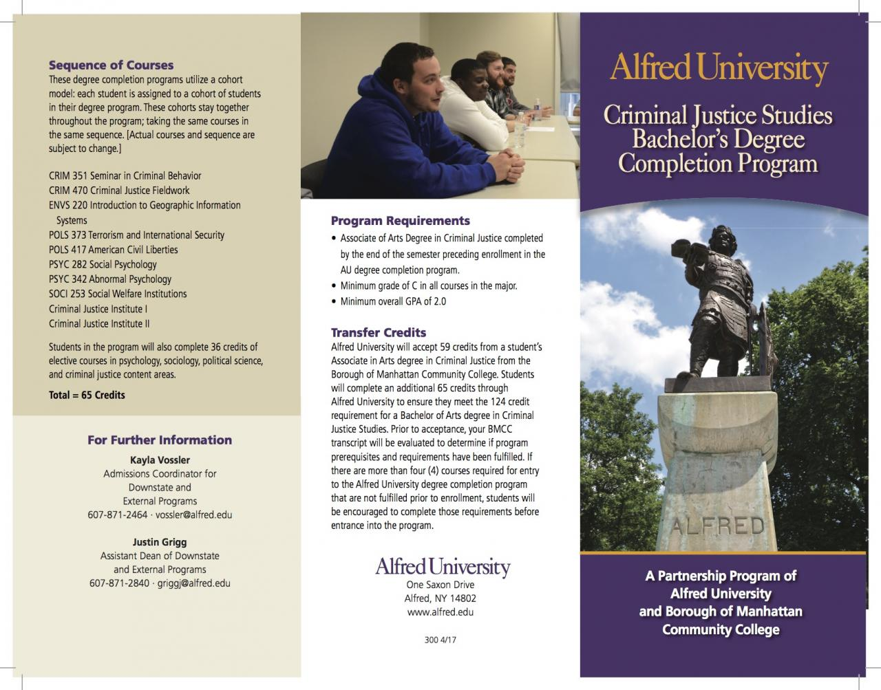 You've Got This - Alfred Degree Completion