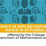 Bachelor of Science in Applied Mathematics, major in Actuarial Science -