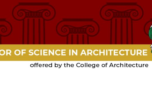Bachelor of Science in Architecture -