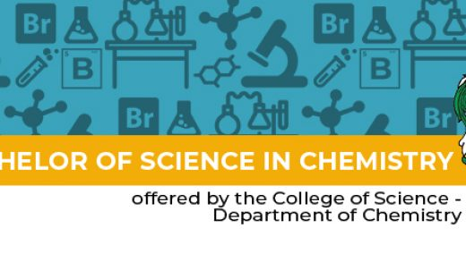 Bachelor of Science in Chemistry -