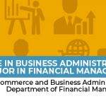 Bachelor of Science in Business Administration, major in Financial  Management -
