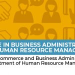 Bachelor of Science in Business Administration, major in Human Resource  Management -