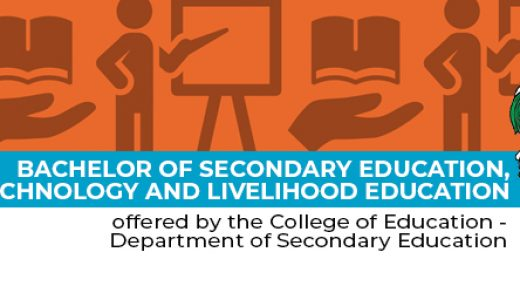 Bachelor of Secondary Education, major in Technology and Livelihood  Education -
