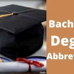 Bachelor's Degree Abbreviation - Complete List [updated 2020]
