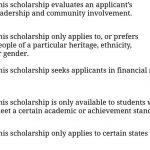 Top 175 Scholarships for College Students