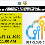 UST - College of Commerce and Business Administration main website