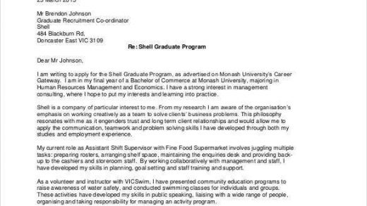 Cover Letter Addressed To Multiple Recipients - Sample Cover Letter
