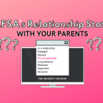 FAFSA's Relationship Status With Your Parents   TUN