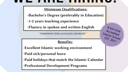 Islamic Cultural Center School NYC – Religious School in NYC – Islamic  school near me
