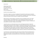 Information Technology (IT) Cover Letter Examples