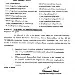 Launching of 2 Years Associate Degree and Exit from BS in KP