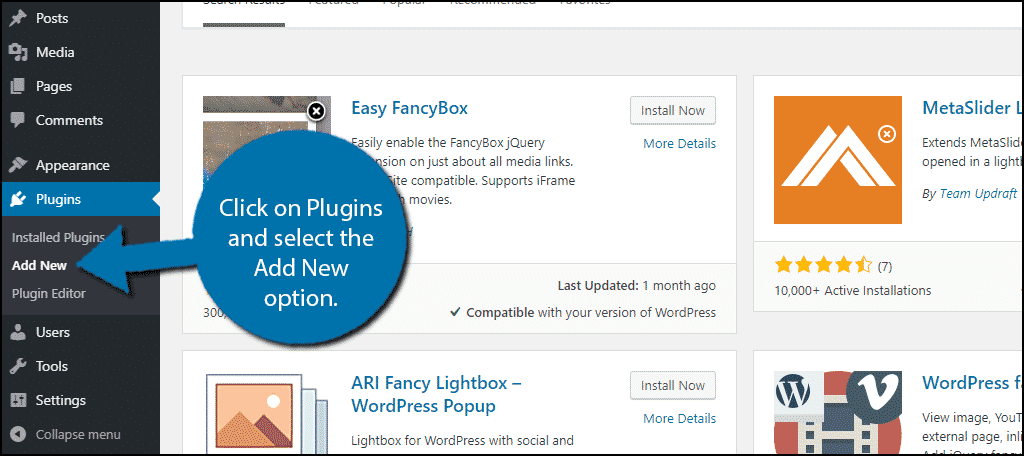 How to Add a Fancy WordPress Lightbox to Your Media Content - GreenGeeks