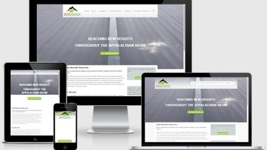 WordPress website design and development for Energy Services and Logistics  Company in US - Portfolio M-Power IT Solutions