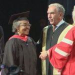 Decades after graduating from U of T, Ontario woman earns 2nd degree and  recreates convocation photo | Globalnews.ca