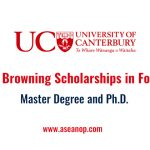 Owen Browning Scholarships in Forestry at University of Canterbury, New  Zealand - ASEAN Scholarships