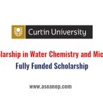 PhD scholarship in Water Chemistry and Microbiology in Australia (Fully  Funded) - ASEAN Scholarships