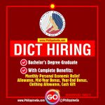 Department of Information and Communications Technology (DICT) - Job  Vacancies 2021 | Philippine Go