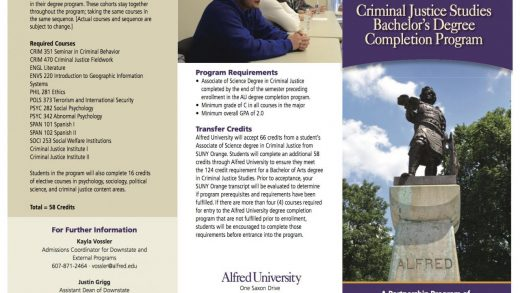 SUNY Orange - Alfred Degree Completion