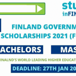 Finland Government Scholarship 2021 | Fully Funded BS,MS