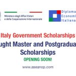 Invest your talent in Italy! Master and Postgraduate Scholarships by  Italian Government 2021 - ASEAN Scholarships