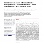 PDF) Contribution of EFAST Ultrasound in the Management of Chest and  Abdomen's Blunt Trauma in the City of Parakou, Benin