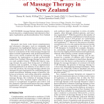 PDF) The Drive for Legitimation of Massage Therapy in New Zealand