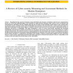 PDF) A Review of Cyber-security Measuring and Assessment Methods for Modern  Enterprises
