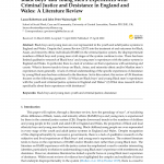 PDF) Black Boys' and Young Men's Experiences with Criminal Justice and  Desistance in England and Wales: A Literature Review