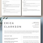 25 Creative Clean CV / Resume Templates with Cover Letters   Design    Graphic Design Junction