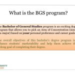 The Value and Steps to a Bachelor of General Studies Degree at the Un…