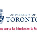 University of Toronto Canada Free online course for Introduction to  Psychology - ASEAN Scholarships